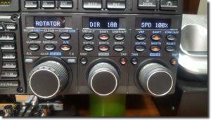 Yaesu Rig Control of Yaesu DXA/DXC Rotator